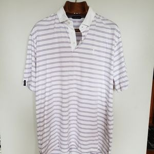 Ralph Lauren // golf polo striped short sleeve tee